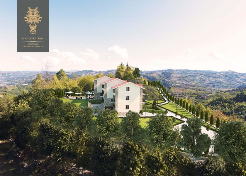 A residential development in Piedmont, Italy.