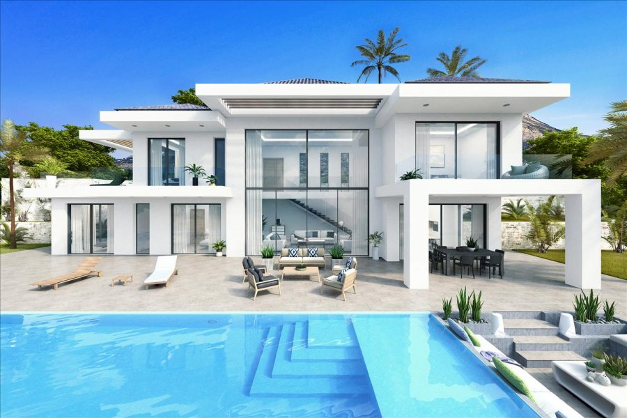 sea view villas in javea for sale