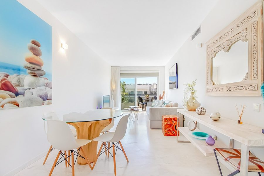 2 bedroom penthouse for sale on Ibiza