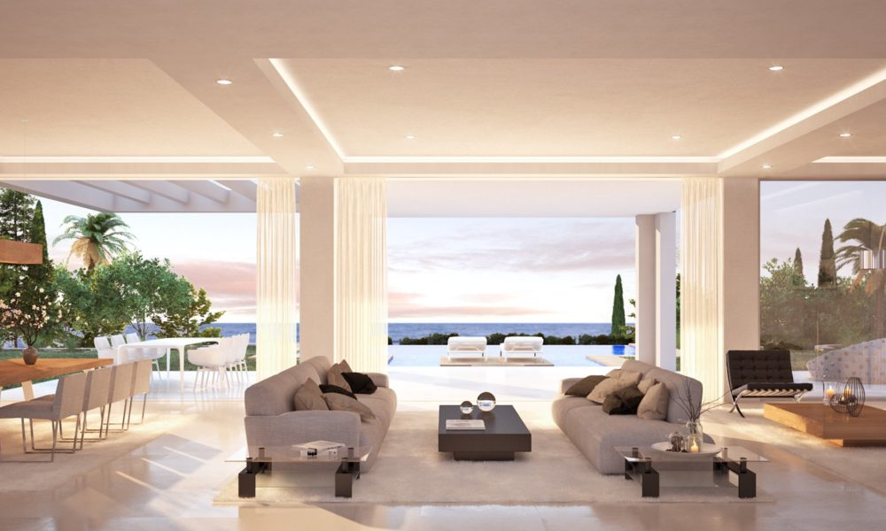 New build: Modern Villa with sea views walking distance to the beach for sale by Blue-Square
