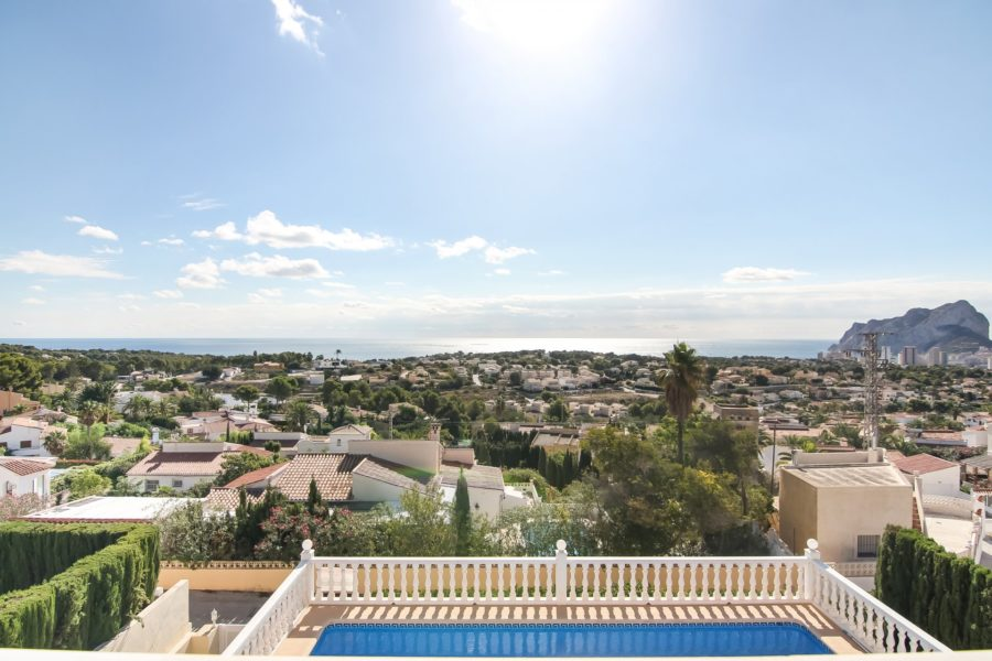 Villa with amazing views in Calpe for sale by Blue-Square